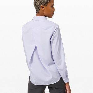 Lululemon Full Day ahead Shirt